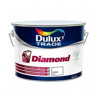 Краска Dulux Diamond Matt bs BW (10л)